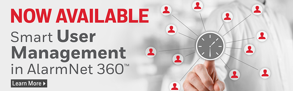 AlarmNet 360 User Management Web Banner